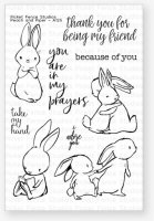 Peach And Piper - Clear Stamps - Picket Fence Studios