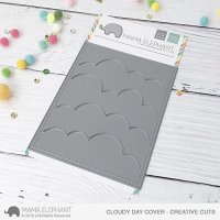 Cloudy Day Cover - Creative Cuts - Mama Elephant
