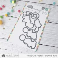Flying with Friends - Creative Cuts - Mama Elephant