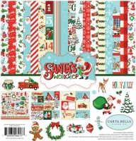 "Carta Bella - Santa´s Workshop - Set - 12""x12"""