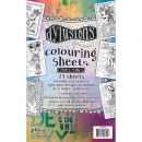 Dylusions Colouring Sheets - Collection 2