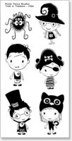 Trick Or Treaters - Clear Stamps - Picket Fence Studios