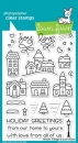 Winter Village - Stempel
