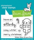 Winter Otter - Stempel