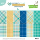 "Perfectly Plaid Chill - Collection Pack - 12""x12"""