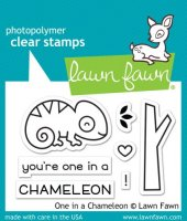 One In A Chameleon - Stempel