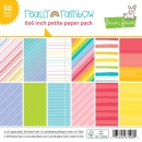 "Really Rainbow - Petite Paper Pack - 6""x6"""
