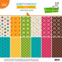 "Knit Picky Fall - Collection Pack - 12""x12"""