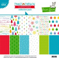 "Really Rainbow Christmas - Collection Pack - 12""x12"""