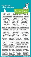 Reveal Wheel Holiday Sentiments - Stempel