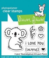 I Love You(calyptus) - Stempel