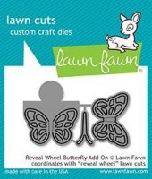 Reveal Wheel Butterfly Add-On - Lawn Cuts