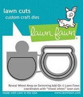 Reveal Wheel Keep on Swimming Add-On - Lawn Cuts
