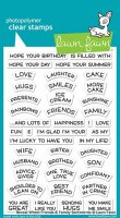 Reveal Wheel Friends & Family Sentiments - Stempel