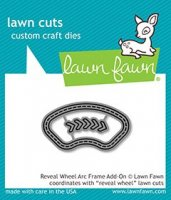 Reveal Wheel Arc Frame Add-On - Lawn Cuts