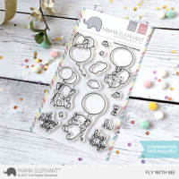 Fly With Me - Clear Stamps - Mama Elephant