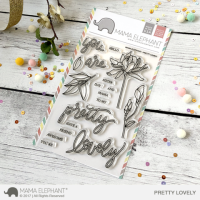Pretty Lovely - Clear Stamps - Mama Elephant