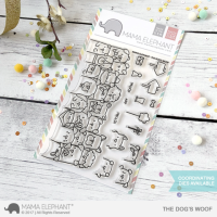 The Dog´s Woof - Clear Stamps - Mama Elephant