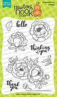 Peony Blooms - Clear Stamps - Newton´s Nook Designs