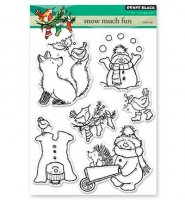 Snow Much Fun - Stempel