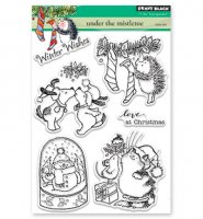 Under The Mistletoe - Stempel