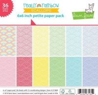 "Lawn Fawn - Really Rainbow Scallops - Collection Pack - 12""x12"""