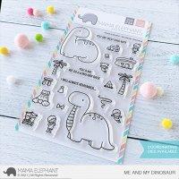 mama elephant - me and my dinosaur