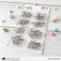 Paola's Wishes - Clear Stamps - Mama Elephant