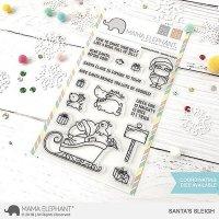 mama elephant - santa sleigh