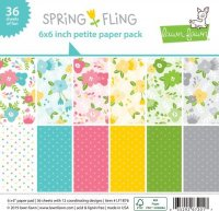 "Lawn Fawn - Spring Fling - Petite Paper Pack - 6""x6"""