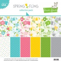 "Lawn Fawn - Spring Fling - Collection Pack - 12""x12"""