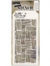 THS104-tim-holtz-stampers-anonymous-thatched-layering-stencil