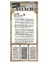 Mini Stencil Set 34 - Tim Holtz