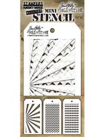 Mini Shifter Stencil Set 42 - Tim Holtz