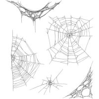 Tangled Webs - Rubber Stamps - Tim Holtz - Stampers Anonymous
