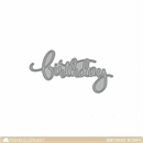 Birthday Script - Creative Cuts - Mama Elephant