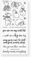 A Bear Kind Of Winter - Clear Stamps - Picket Fence Studios