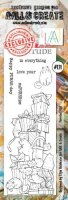 AALL & Create - Purrfect Gift - Clear Stamps #121