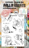 AALL & Create - Quack The Duck - Clear Stamps #135