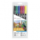 Tombow® ABT Dual Brush Pens - 6er Set - Primary Colours