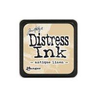 distress ink - antique linen