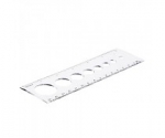 Circle Size Ruler - 15 cm