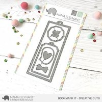 Bookmark It - Creative Cuts - Mama Elephant