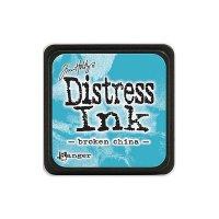 distress ink - broken china
