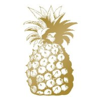 Hotfoil Stamp - Pineapple