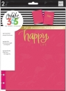 Create 365 - The Happy Planner - CLASSIC - Snap-In Cover - Happy Life