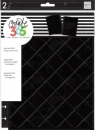 Create 365 - The Happy Planner - CLASSIC - Snap-In Cover - Quilted Black