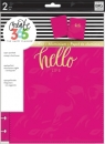 Create 365 - The Happy Planner - CLASSIC - Snap-In Cover - Hello Life