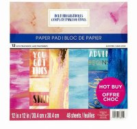 "Craft Smith - Bold Brushstrokes - 12""x12"" -"