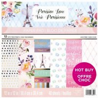 "Craft Smith - Parisian Lane - 12""x12"" -"